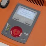 eksternal defibrilatör panel